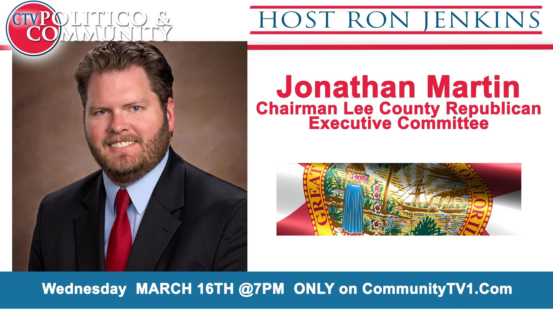 [3-16-2016] CTV Politico & Community with Jonathan Martin of the the LC Republican E.C.