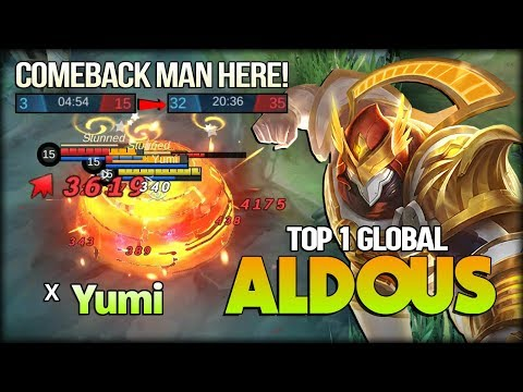 The Most Dangerous Of Late Game Here! Yumi Top 1 Global Aldous - Mobile Legends
