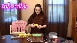 How To Make A Easter Basket Cake