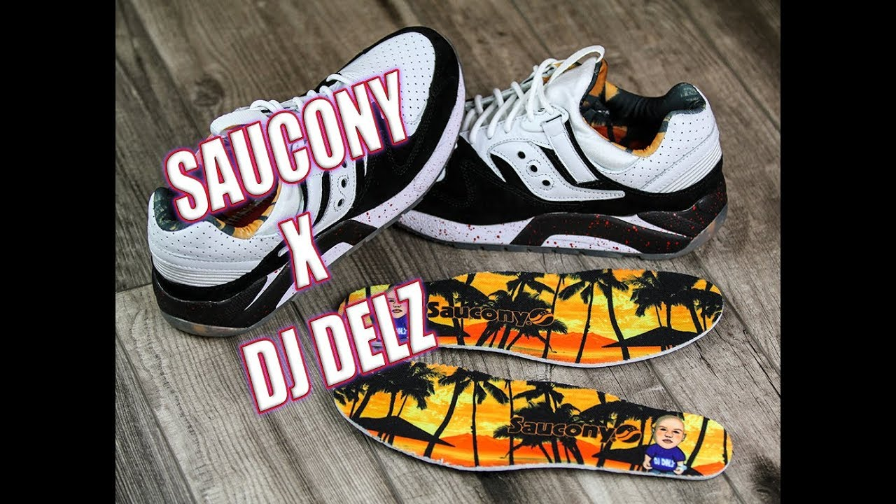 the best attitude 3baa5 4ff11 DJ DELZ x SAUCONY Originators Only GRID 9000 Review with On Feet!