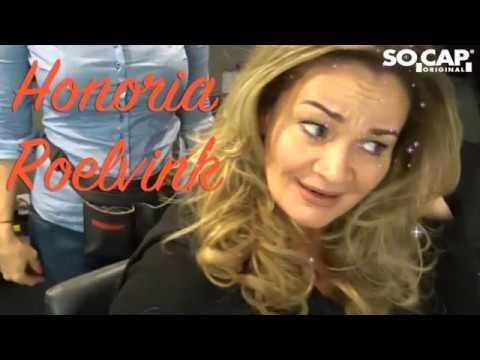 Honoria Roelvink met hair weave extensions by Sylvia ...