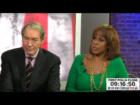 charlie rose and gayle relationship