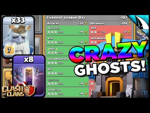 How To 3 Star With Mass Ghost Bats - Almost Perfect! | Clash Of Clans
