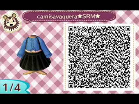 animal crossing new leaf Diseos ropa acnl qr codes YouTube