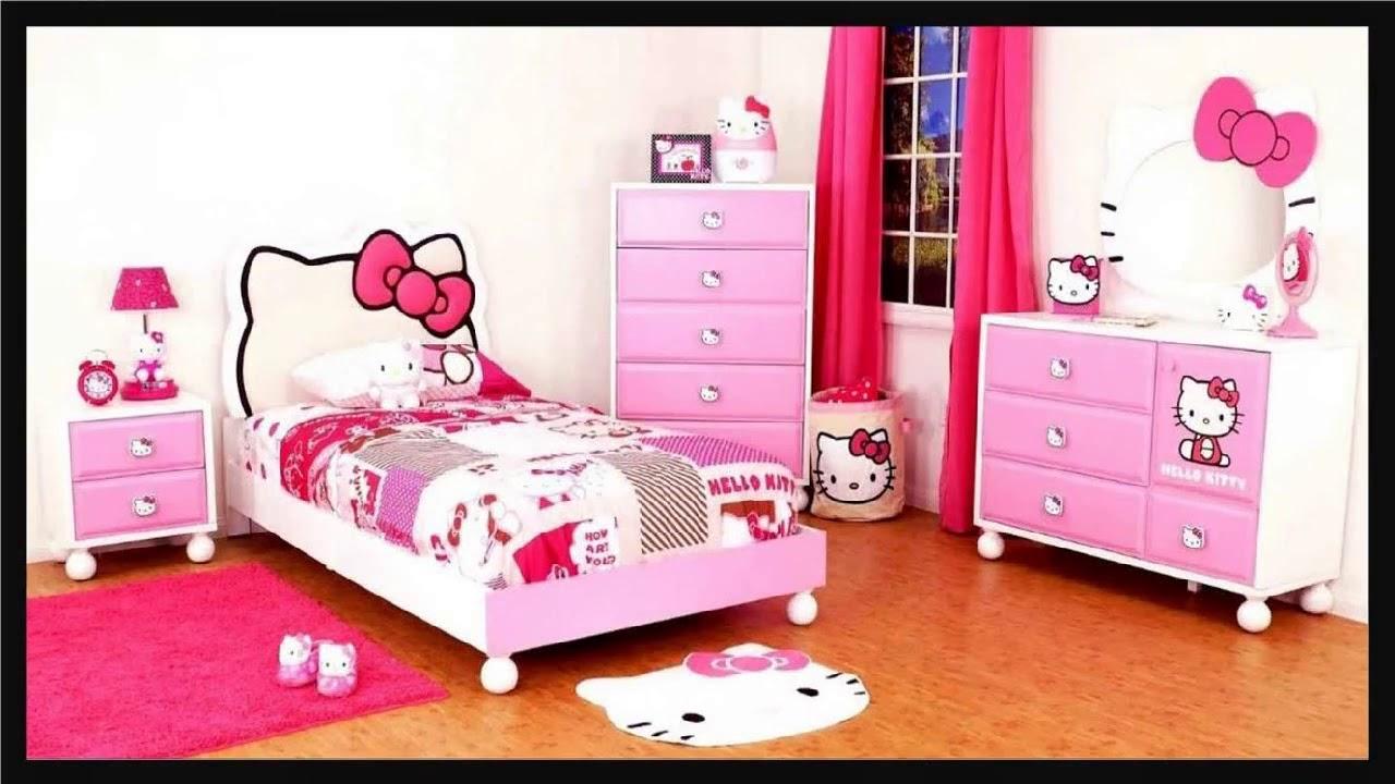 29 Contoh Desain Kamar Tidur Pink Untuk Anak Perempuan ...