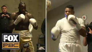 Watch Wilder & Ortiz prepare for WBC Heavyweight World Championship Fight | All-Access | PBC ON FOX