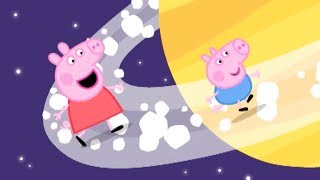 Peppa Pig Episodes - Peppa Blasts into Space! - Cartoons for Children
