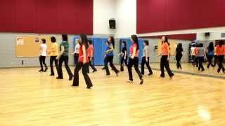 Is It Over - Line Dance (Dance & Teach in English & 中文