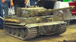360 KG!! 800W SOUND!! HEAVY WEIGHT, XXL RC MODEL TANK TIGER*RC MODEL MILITARY VEHICLE