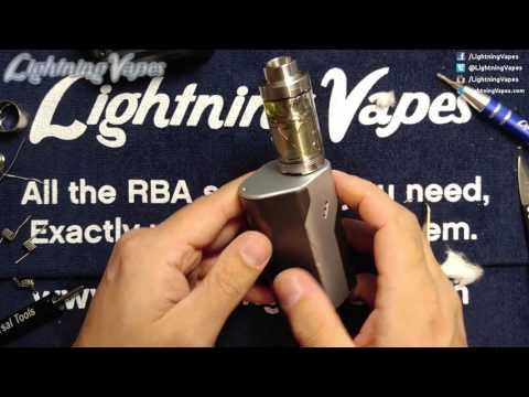 iJoy Limitless XL Rebuild & Wicking Tutorial - By Lightning Vapes