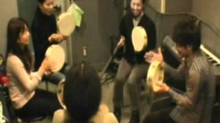 Tambourine Lesson --- 2011/02/05(sat.)