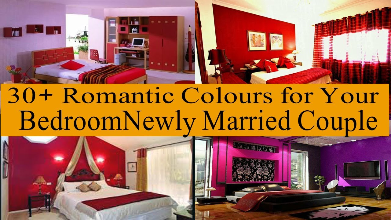 Top 30 Bedroom Colour Combination For Newly Married Couple Best Wall Colour Combinations Youtube