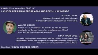 LAS IDEAS DE FREIRE A 100 AÑOS DE SU NACIMIENTO