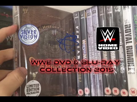 WWE DVD & Blu-ray Collection 2015