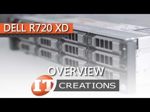 Dell PowerEdge R720 XD Server Overview ( IT Creations, Inc ) - YouTube