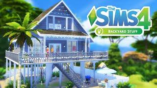 The Sims 4 Build | Summer Beach Shack