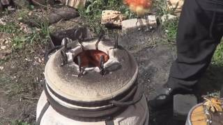 Куриный шашлык в тандыре