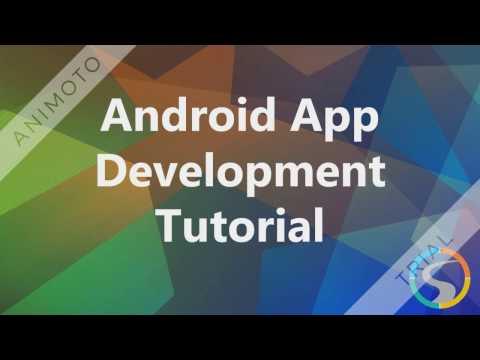 Android App Development - Android App Development Tutorial For Beginners