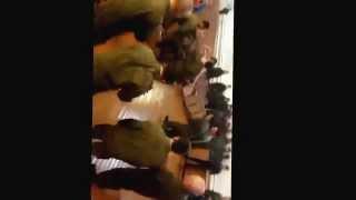 Призыв 2013г. г. Борзя . Даги в армии