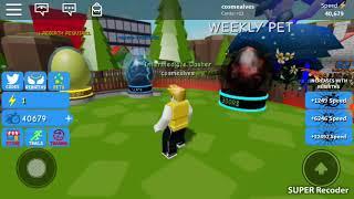 Jugando con mi primo en el ROBLOX