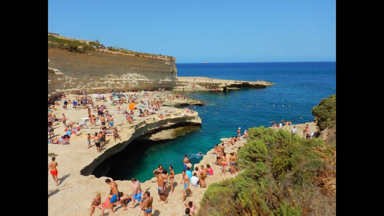 St Peters Pool Malta  Snorkeling  Fun  YouTube