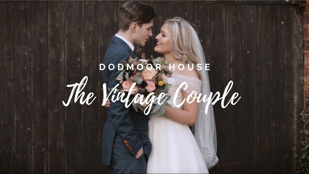 The Vintage Couple - Dodmoor House Styled Shoot