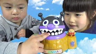 アンパンマン がぶがぶバイキンじょう おもちゃ anpanman toys thumbnail