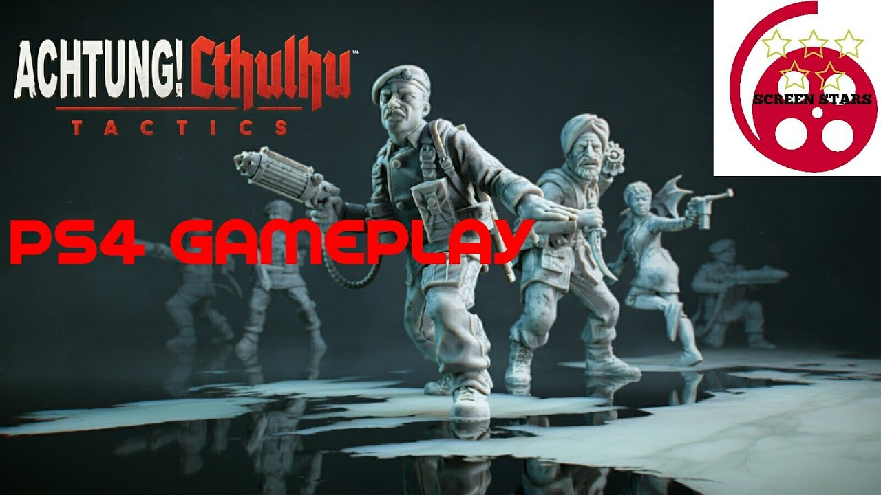 Achtung Cthulhu Tactics PS4 Gameplay (XCOM Type Strategy Game)