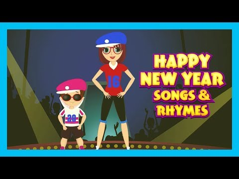 HAPPY NEW YEAR SONG FOR KIDS - NEW YEAR CELEBRATION    KIDS SONGS AND RHYMES - ANIMATION FOR KIDS