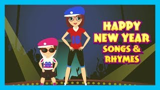HAPPY NEW YEAR SONG FOR KIDS - NEW YEAR CELEBRATION || KIDS SONGS AND RHYMES - ANIMATION FOR KIDS