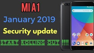 Mi A1 android security patch January 2019