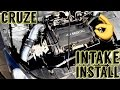 Chevy Cruze Cold Air Intake Install 1.8