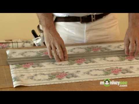How to Turn Wallpaper into Borders