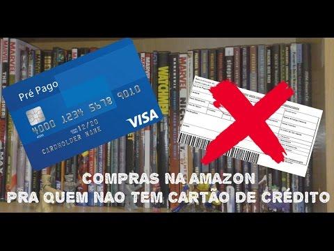 Amazon aceita cartao pre pago