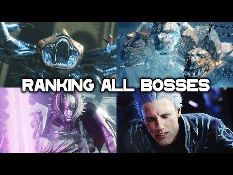 DEVIL MAY CRY 5 - Bosses Ranked From Easiest to Hardest thumbnail