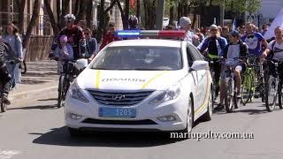 Велосезон  в Мариуполе 22.04.2018