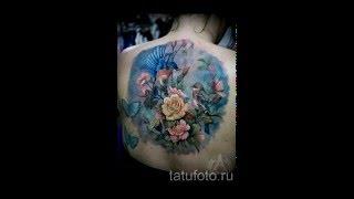 Значение тату синица   примеры татуировок на фото