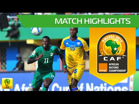 Rwanda vs Côte d'Ivoire | Orange African Nations Championship, Rwanda 2016