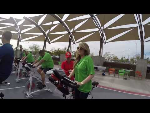 Godaddy and Cyclebar Spin Event 2017