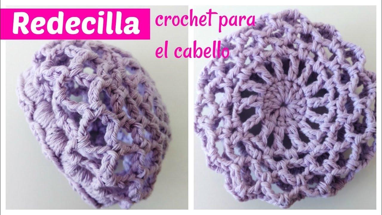 0d5834377648 Redecilla a crochet para el cabello
