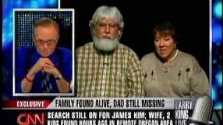 Larry King: Kim family found, search for James continues
