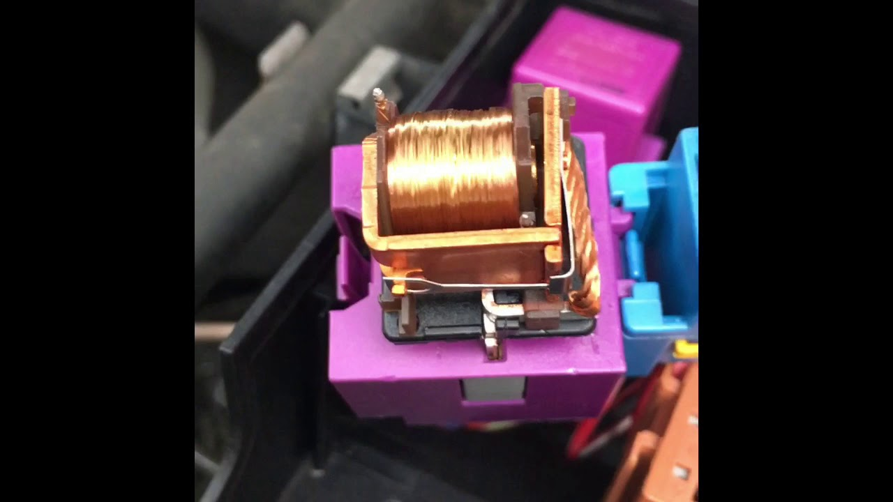 Vauxhall Astra G fuel pump relay bypass  YouTube