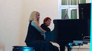 10 February 2018 Live concert of Duo Piano Ivelina Ruseva and Vesel...