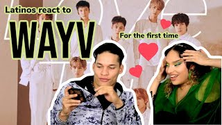 Latinos react to WAYV - LOVE TALK for the first time 😍🤤👏| reaction video FEATURE FRIDAY ✌