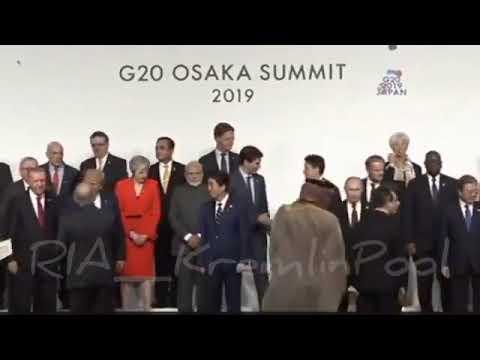 Путин перед G20 перекинулся парой слов с Трампом  И пожал руку наследному принцу Саудовской Аравии б