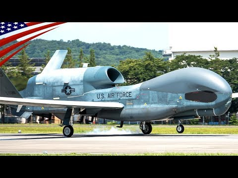 RQ-4 Global Hawk Deploy from Guam to Japan, 08/2019