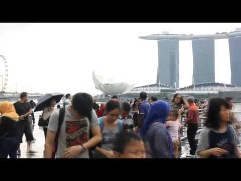 Singapore Trip (Part 3) : Place : Singapore City Sightseeing, Singapore Flyer, Merlion Park