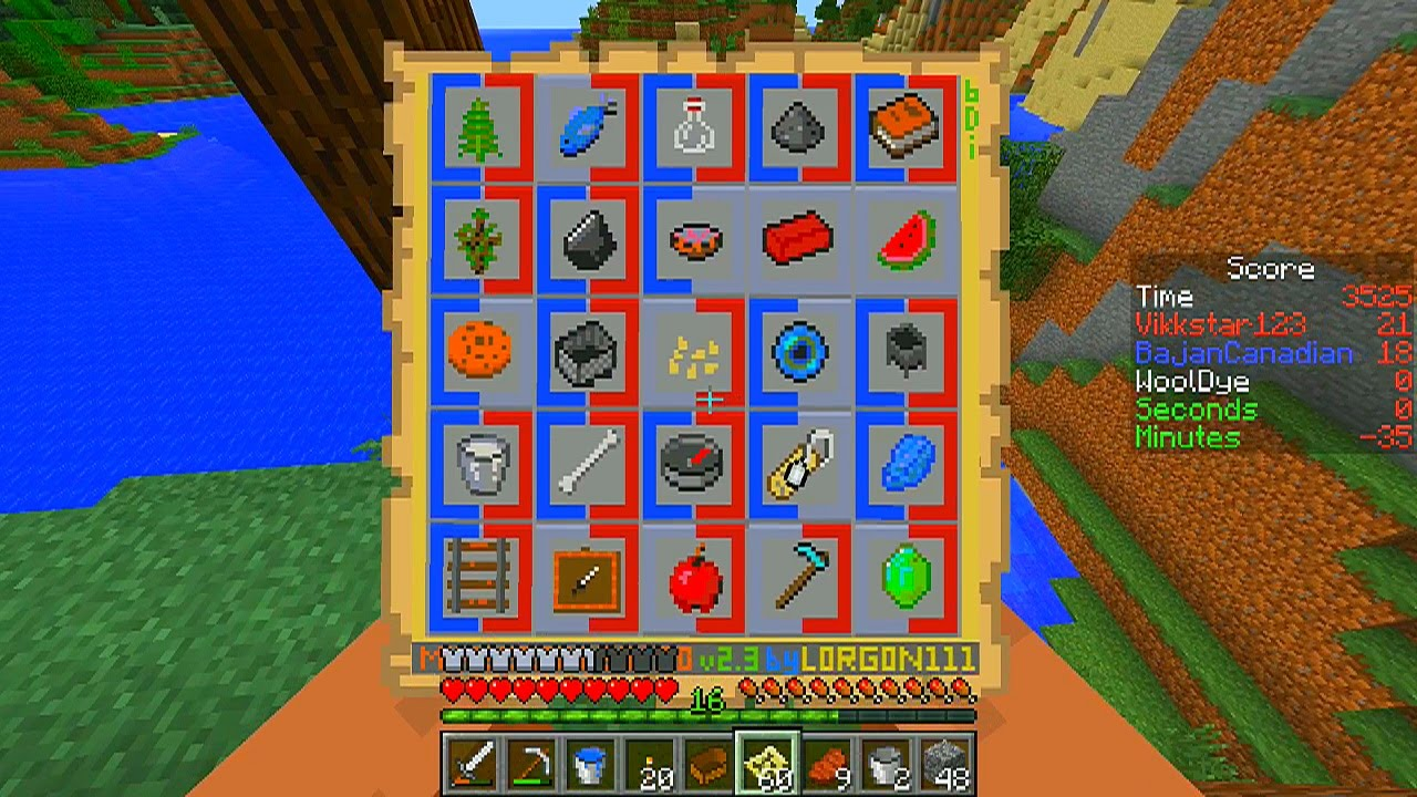 Minecraft: DEEP FREEZE (New 1.8 Mini-Game!) w ...
