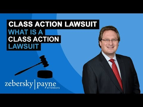 What is a Class Action Lawsuit - Class Action Lawyer