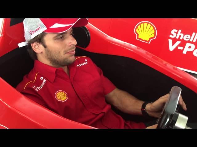 Simuladores F1 Shell V-Power Racing    Ricardo Zonta x Dennis Dirani